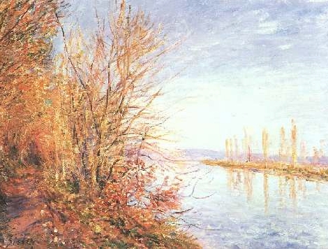Alfred Sisley (1839-1899),French), St. Martin's Summer
